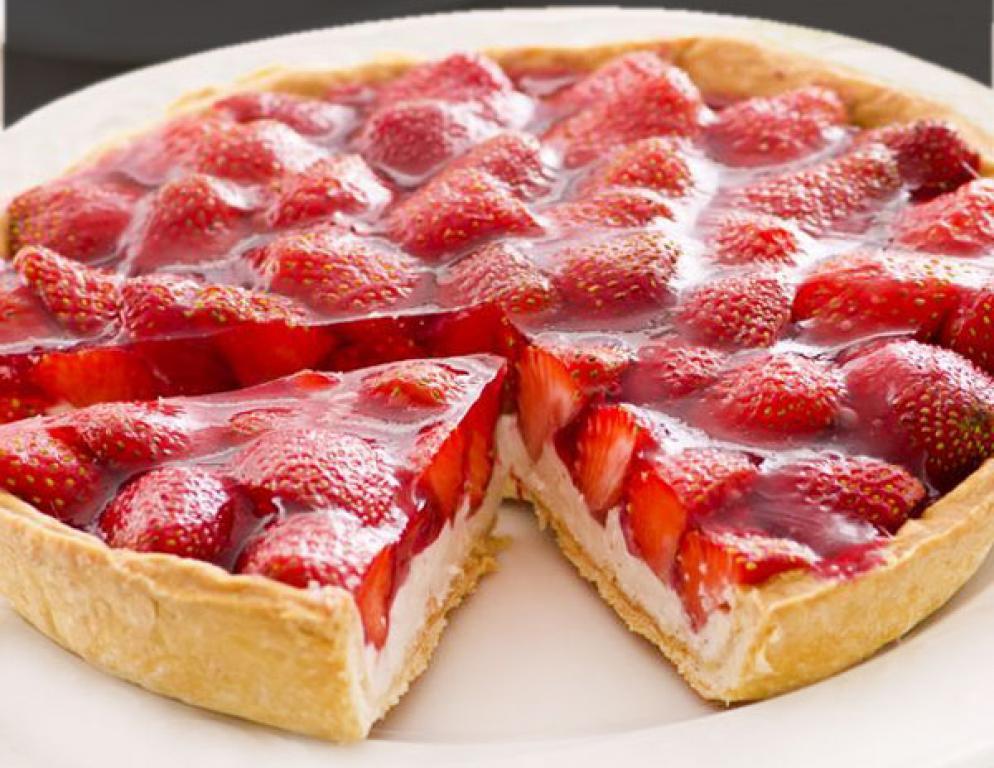 Tarta De Yogur Y Fresas Comparterecetas Com
