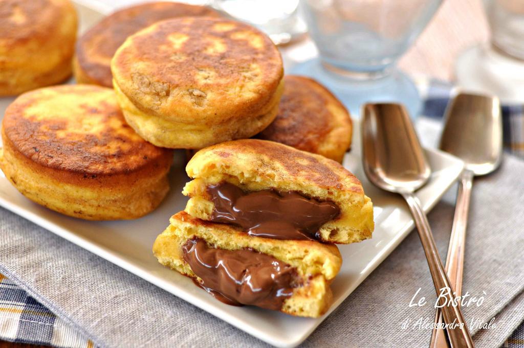 Bizcochos de Nutella sin horno
