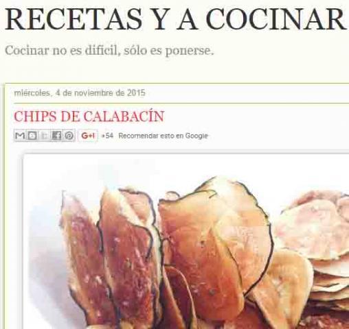 RECETAS Y A COCINEAR SE HA DICHO