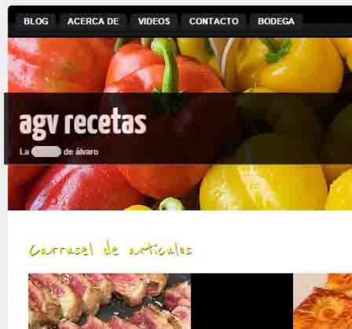 AGV RECETAS