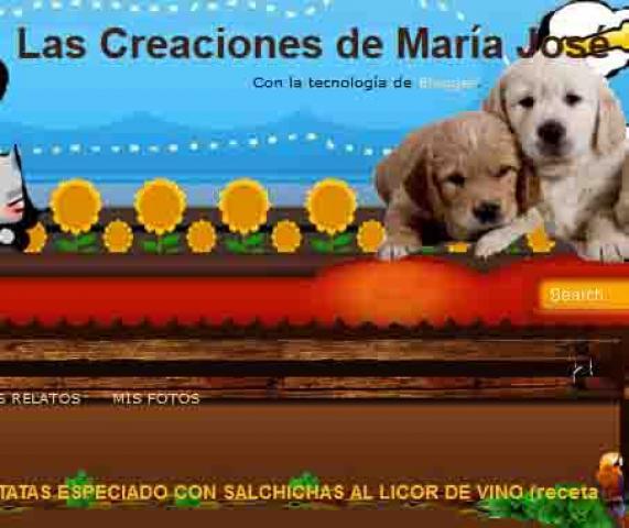 LAS CREACIONES DE MARIA JOSE